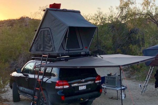 Rooftop Tent Jeep